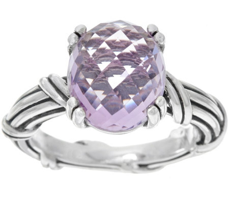 Peter Thomas Roth Sterling Fantasies 4.40 ct Rose de France Ring