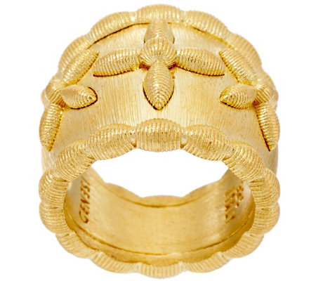 Genesi 18K Clad Graduated Band Ring