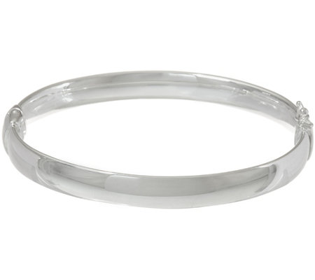 """As Is"" UltraFine Silver Large Solid Bangle Bracelet 39.5g"
