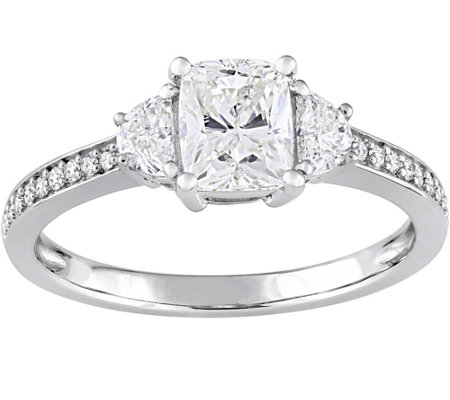 Diamond Engagement Ring, 14K, 1.35 cttw, by Affinity