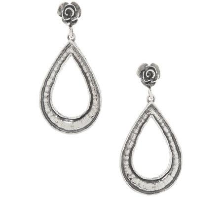 Or Paz Sterling Silver Dangle Earrings