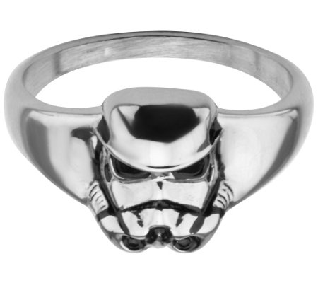 Star Wars Stainless Stormtrooper 3D Ring