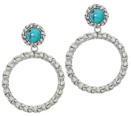 b3f7239644dbc Tiffany Kay Studio Sterling Silver Purl Removable Hoop Earrings — QVC.com