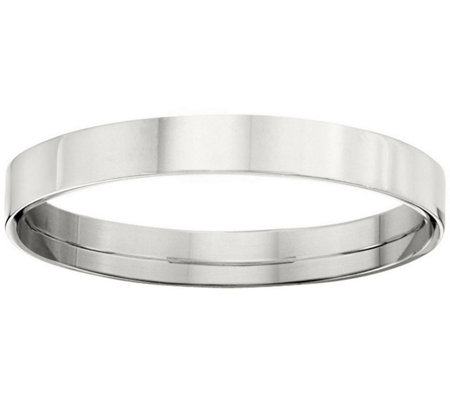 Women's Platinum 3mm Flat Wedding Band