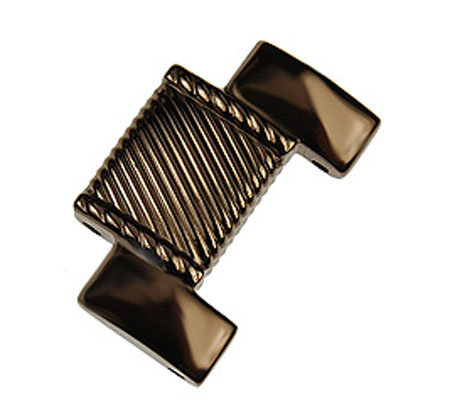 Judith Ripka Stainless Steel Extender Link -Black or Chocolate
