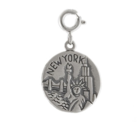 Sterling New York City Charm