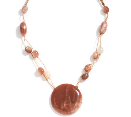Lola Rose Parker Gemstone Adjustable Necklace