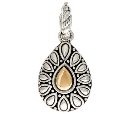 JAI Sterling Silver & 14K Gold Lotus Petal Enhancer