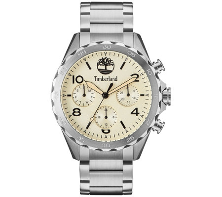 Timberland Men's Stainless Steel Bracelet Watch