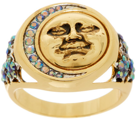 Kirks Folly Moon Shadow Ring