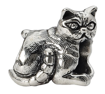 Prerogatives Sterling Exotic Shorthair Cat Bead