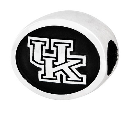 Sterling Silver University of Kentucky Bead