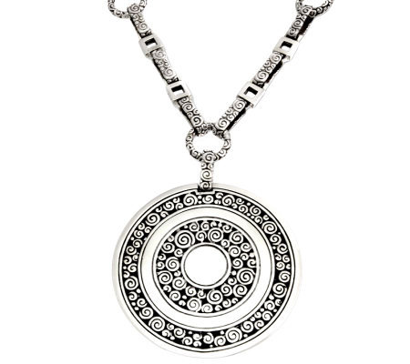 Novica Sterling Artisan Crafted LongPendant Necklac
