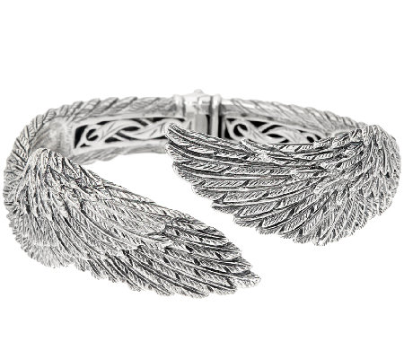 Scott Kay Sterling Silver Guardian Angel Cuff