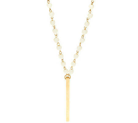 """As Is"" Soko Rosary Bar Pendant"