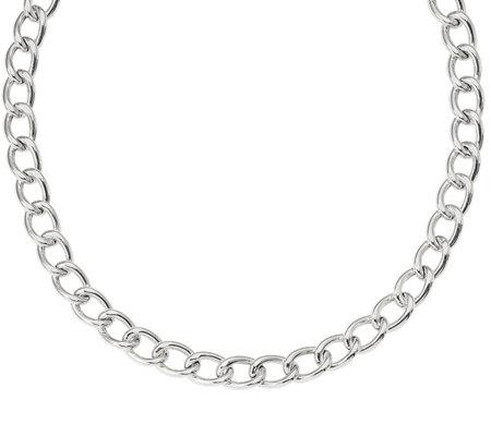 Italian Silver 18 Curb Chain 33 9g