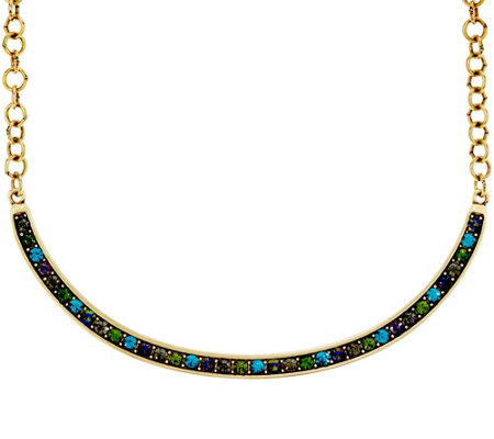 LOGO Links_by Lori Goldstein Pave' Collar Necklace