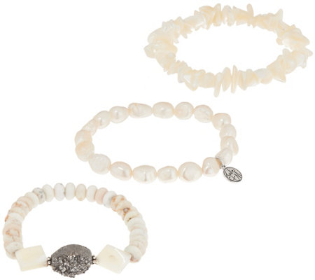 Jodie M. Daydreamer 3-Piece Stretch Bracelets