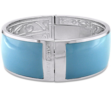 Laura Ashley Pastel Color Enamel Bangle