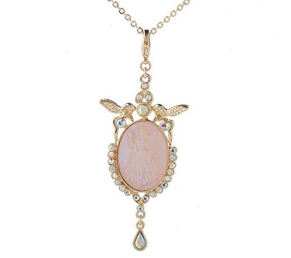 Kirks folly fairy godmother dream stone charm 17 necklace page 1 kirks folly fairy godmother dream stone charm 17 necklace page 1 qvc aloadofball Gallery