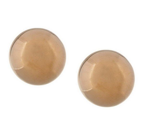 Ball Stud Earrings 18k Gold Product Thumbnail In Stock