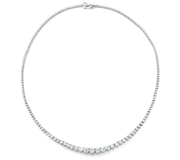 Fire Light Lab Grown Diamond Necklace 10 00cttw Qvc