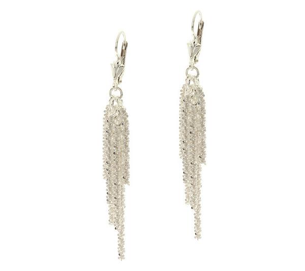 630615c6b Sterling Multi-strand Margherita Tassel Earrings - Page 1 — QVC.com