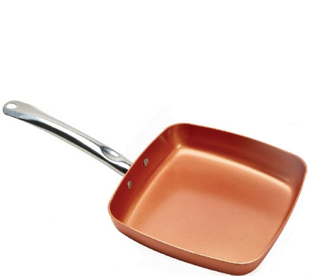"Copper Chef 9.5"" 6-in-1 NonstickSquare Fry Pan"