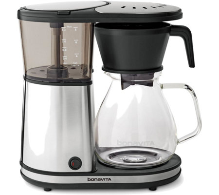 Bonavita Glass 8-Cup Coffee Brewer with Hot Plate