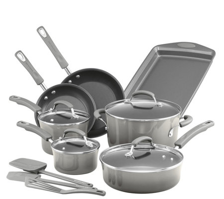 Rachael Ray Classic Brights Nonstick 14 Piece Cookware Set