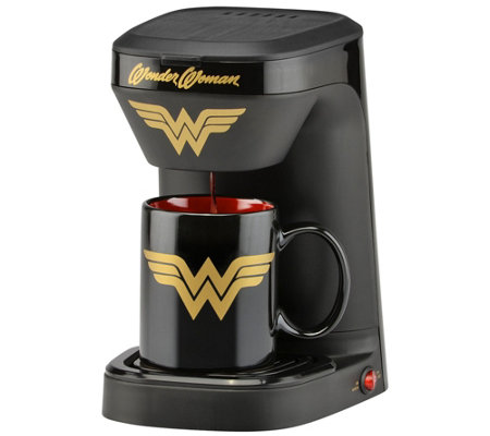 DC Comics Wonder Woman Single-Serve Coffee Maker