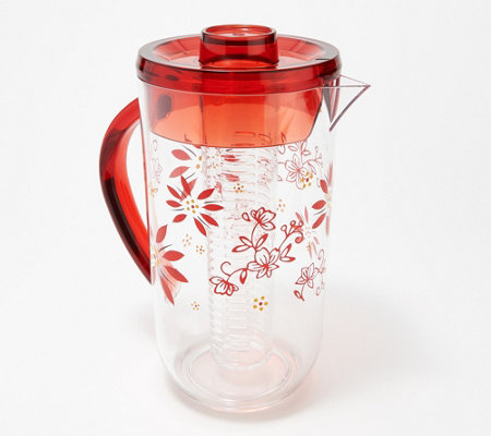 Temp-tations 2.8-Quart Fruit Infusion Pitcher