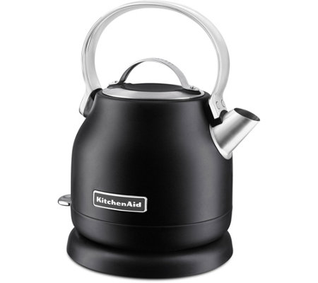 KitchenAid 1.25L Electric Kettle - Matte Black