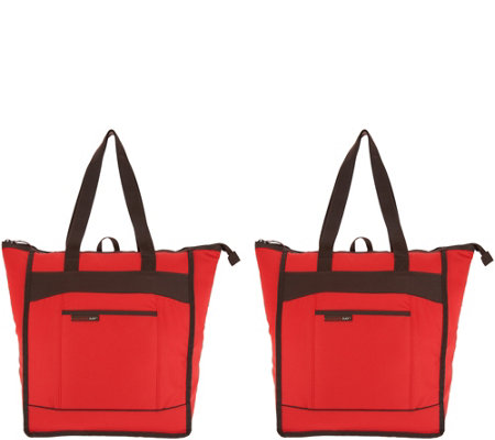 Rachael Ray Set of 2 Insulated ChillOut Totes