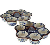 Temp-tations Floral Lace Set of 2 Muffin Pans - K46901