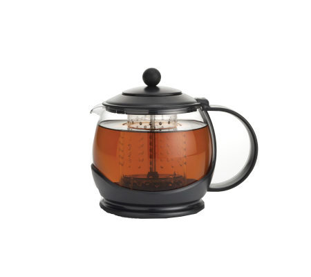 BonJour Prosperity Tea Pot with Poly Carb ShutOff Infuser