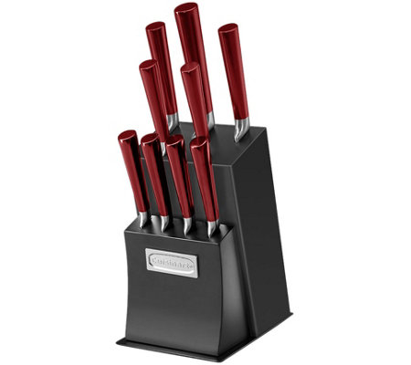 Cuisinart Vetrano Collection 11-Pc Stainless Steel Knife Set
