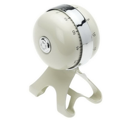 Double 55 Minute Mechanical Kitchen Timer