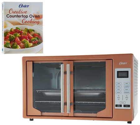 Oster XL Digital Convection Oven w/ French Doors & Recipe Book