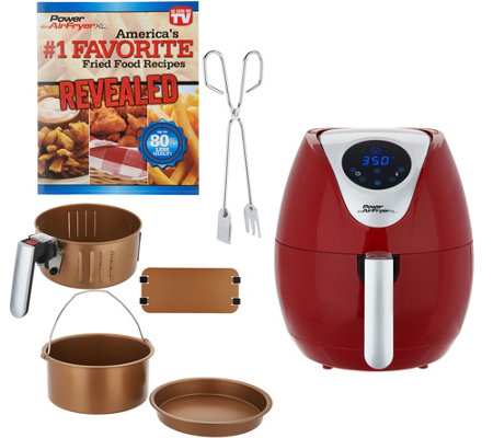 Power XL 3.4-qt Digital Air Fryer w/ Accessories