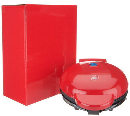 "Yes Chef! 8"" Personal Waffle Maker with Gift Box"