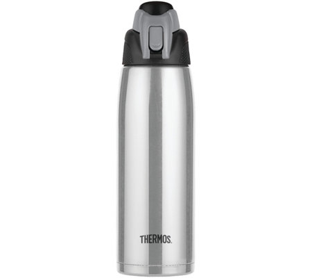 Thermos 24-oz Vacuum-Insulated Stainless SteelBottle - Silver