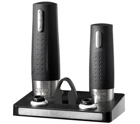 Waring Pro WC400 Wine Center Electric Opener/Preserver Set