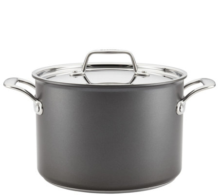 Breville Thermal Pro Hard Anodized Nonstick 8 Qt Stockpot