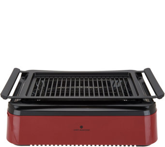Cooku0027s Essentials Smoke Less Indoor Electric Grill   K47104