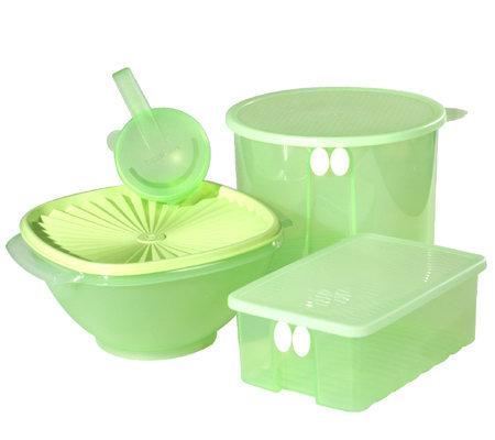 Tupperware 4 Piece Food Storage Solutions Set