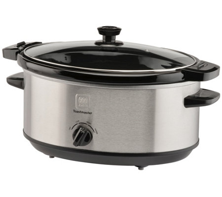 Toastmaster 7 Qt Locking Lid Slow Cooker