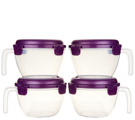 Lock & Lock 4-piece Vented Bowl Set