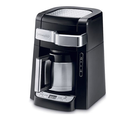 DeLonghi 10-Cup Drip Coffee Maker with Front Access
