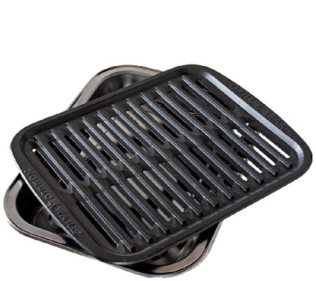 Nordic Ware Cast Grill and Sear Pan
